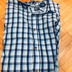 Men's Casual Button Down Large